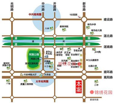 [区域地图]; 项目地址:平顶山市新华路与高阳路交叉